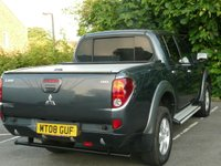 USED 2008 08 MITSUBISHI L200 2.5 ANIMAL LWB DCB 4 Door Pickup Truck 4x4 164 BHP NO VAT