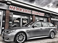 USED 2008 08 BMW 5 SERIES 3.0 525D M SPORT TOURING 5d AUTO 195 BHP