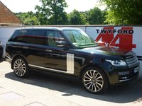 USED 2014 14 LAND ROVER RANGE ROVER 4.4 SDV8 AUTOBIOGRAPHY 5d AUTO 339 BHP FULL SPECIFICATION AUTOBIOGRAPHY,REAR ENTERTAINMENT
