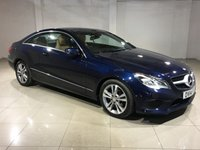 USED 2014 14 MERCEDES-BENZ E CLASS 2.1 E220 CDI SE 2d AUTO 170 BHP One Owner From New/Huge Spec