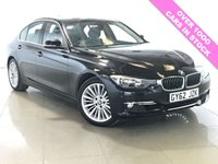 USED 2012 62 BMW 3 SERIES 2.0 320I LUXURY 4d AUTO 181 BHP 1 Owner From New/Black Leather