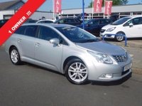 USED 2012 12 TOYOTA AVENSIS 2.0 TR D-4D 5d 125 BHP 1 OWNER & FULL SERVICE HISTORY
