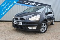 USED 2009 59 FORD GALAXY 2.0 ZETEC TDCI 5d 143 BHP