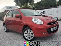 USED 2013 62 NISSAN MICRA 1.2 ACENTA 5d 79 BHP 1 PREVIOUS OWNER - FSH