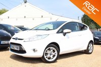USED 2012 62 FORD FIESTA 1.2 ZETEC 3d 81 BHP Bluetooth, 6 months warranty & more