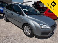 USED 2005 05 FORD FOCUS 1.6 LX 16V 5d 116 BHP Ford Focus is a winning hatchback ... simple but, one of the best family hatchbacks to drive quickly down twisty roads.