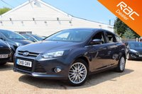 USED 2011 61 FORD FOCUS 1.6 ZETEC 5d 124 BHP Bluetooth, Parking aid & more