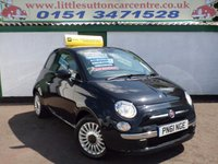 USED 2011 61 FIAT 500 1.2 LOUNGE 3d 69 BHP FULL HISTORY, £30 A YEAR TAX, ONE OWNER PLUS DEALER