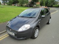 USED 2009 59 FIAT GRANDE PUNTO 1.4 DYNAMIC 5d 77 BHP 55,000 GUARANTEED  MILES - SERVICE HISTORY - EXCELLENT CONDITION