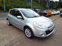 USED 2010 10 RENAULT CLIO 1.1 DYNAMIQUE TOMTOM 16V 3d 74 BHP SERVICE HISTORY