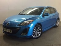 USED 2010 59 MAZDA 3 2.2 D SPORT 5d 150 BHP CRUISE PRIVACY SERVICE HISTORY MOT 03/18 NOW SOLD.