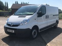 USED 2014 VAUXHALL VIVARO 2.0 2900 CDTI 1d 113 BHP VERY CLEAN VAN! HARDLY USED!