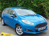 USED 2016 16 FORD FIESTA 1.0 ZETEC 5d  * 128 POINT AA INSPECTED *