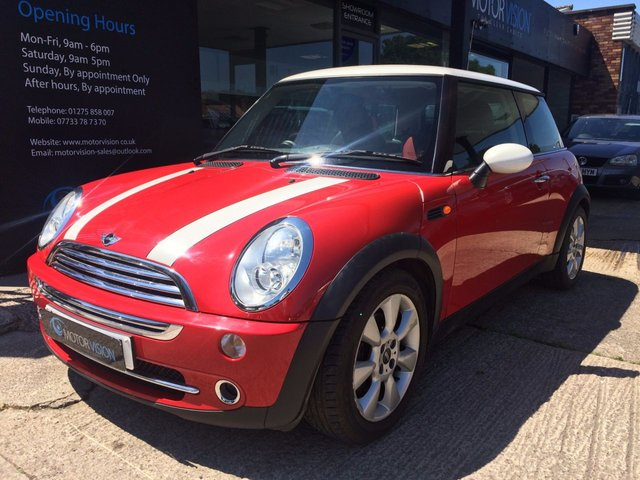 2006 06 MINI HATCH COOPER 1.6 COOPER 3d 114 BHP