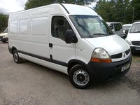 USED 2007 07 RENAULT MASTER 2.5DCI 120PS 6 SPEED LM35 LWB H/R FACELIFT