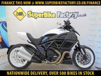 USED 2011 11 DUCATI DIAVEL  GOOD & BAD CREDIT ACCEPTED, OVER 500+ BIKES