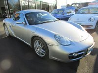 USED 2007 07 PORSCHE CAYMAN 2.7 24V 2d 242 BHP FULL BLACK LEATHER LOW MILEAGE