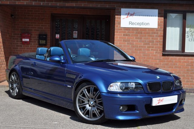 2001 51 BMW M3 3.2 M3 2d 338 BHP E46 MANUAL CABRIOLET