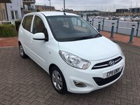 USED 2011 11 HYUNDAI I10 1.2 ACTIVE 5d 85 BHP 1 OWNER! £20 TAX! LOW MILES! FULL SERVICE HISTORY!