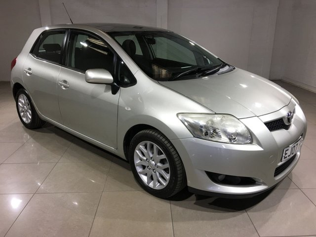 View our 2007 07 TOYOTA AURIS 1.4 T3 D-4D MM 5d 89 BHP