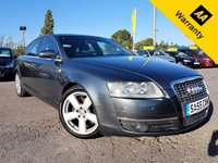 USED 2005 55 AUDI A6 2.0 TDI S LINE 4d 138 BHP!p/x welcome! CAMBELT+WATER PUMP DONE! LEATHER! GOOD S-HISTORY! LOW MILES! PARKING AID! CRUISE! NEW MOT! CAMBELT+WATERPUMP DONE! HALF-LEATHR! LOW MILES!PARKING AID! CRUISE CONTROL! NEW MOT! SERVICED!