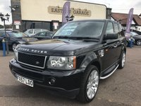 USED 2007 57 LAND ROVER RANGE ROVER SPORT 2.7 TDV6 SPORT HSE 5d AUTO 188 BHP