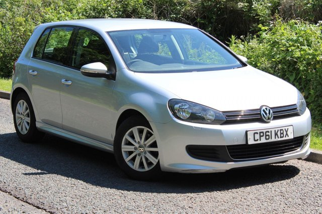 2012 61 VOLKSWAGEN GOLF 1.6 S TDI BLUEMOTION 5d 103 BHP