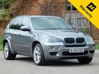 USED 2009 59 BMW X5 3.0 XDRIVE30D M SPORT 5d AUTO 232 BHP