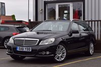 USED 2011 61 MERCEDES-BENZ C CLASS 2.1 C220 CDI BLUEEFFICIENCY ELEGANCE ED125 5d 170 BHP FULL SERVICE HISTORY 7 STAMPS.NEW MOT