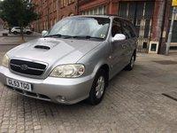 2003 KIA SEDONA 2.9 SE CRDI 5d 142 BHP £1095.00