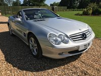 2003 MERCEDES-BENZ SL 350 3.7 HARD TOP CONVERTABLE £12000.00