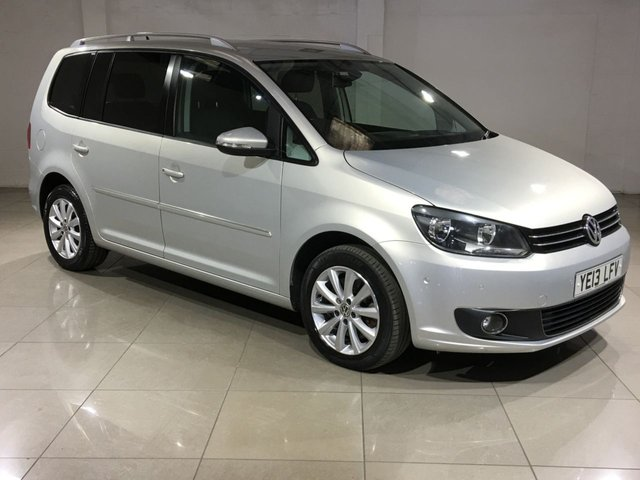 View our 2013 13 VOLKSWAGEN TOURAN 2.0 SPORT TDI BLUEMOTION TECHNOLOGY 5d 138 BHP