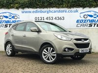 USED 2010 10 HYUNDAI IX35 2.0 PREMIUM CRDI 4WD 5d 134 BHP I OWNER CAR WITH  FULL HISTORY OF SERVICE RECEIPTS