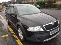 USED 2008 08 SKODA OCTAVIA 2.0 SCOUT TDI 5d 138 BHP TO ARRANGE A TEST DRIVE CALL US NOW: 0131-538-7070