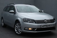 USED 2014 14 VOLKSWAGEN PASSAT 2.0 EXECUTIVE TDI BLUEMOTION TECHNOLOGY DSG 5d AUTO 139 BHP FULL VW SERVICE HISTORY