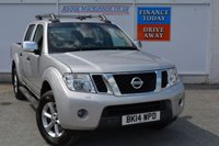 USED 2014 14 NISSAN NAVARA 2.5 DCI TEKNA 4X4 SHR DCB 1d 188 BHP HIGH SPEC NAVARA READY FOR WORK  OR PLAY WITH SAT NAV, LEATHER + CLIMATE