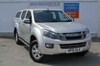 USED 2015 15 ISUZU D-MAX 2.5 TD EIGER DCB 1d 164 BHP LOW MILEAGE DMAX WITH FITTED AEROKLAS COLOUR CODED REAR CANOPY