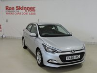 USED 2016 66 HYUNDAI I20 1.2 MPI S AIR 5d 74 BHP