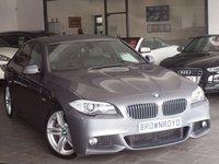 USED 2011 11 BMW 5 SERIES  535D M SPORT 4d AUTO 295 BHP SAT NAV+XENONS+LTHR+HIGH SPEC