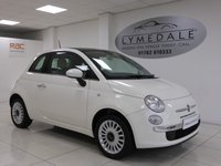 USED 2013 13 FIAT 500 1.2 LOUNGE 3d 69 BHP Superb! 1 Owner Full Service History Pan Roof