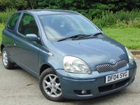 USED 2004 04 TOYOTA YARIS 1.3 BLUE VVT-I 3d 86 BHP 12 MONTHS AND JUST BEEN SERVICED