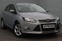 USED 2014 14 FORD FOCUS 1.6 ZETEC NAVIGATOR TDCI 5d 113 BHP NAV + 1 OWNER + Ford History