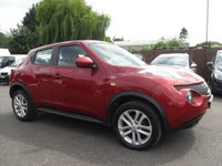 USED 2014 14 NISSAN JUKE 1.5 ACENTA DCI 5d  1 PRIVATE OWNER FROM NEW  NO DEPOSIT  PCP/HP FINANCE ARRANGED, APPLY HERE NOW