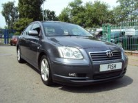 USED 2006 06 TOYOTA AVENSIS 2.2 T SPIRIT D-4D 4d 148BHP LEATHER HEATED SEATS+TOP SPEC+