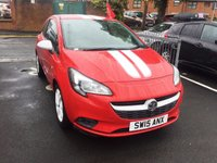 USED 2015 15 VAUXHALL CORSA 1.2 STING 3d 69 BHP EXCELLENT FUEL ECONOMY!!..LOW CO2 EMISSIONS..LOW ROAD TAX...FULL HISTORY,,WITH VAUXHALL WARRANTY!!..ONLY 4043 MILES FROM NEW!!...ALSO WITH CRUISE CONTROL!!..PRIVACY GLASS!..RADIO/CD!!