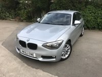 2013 BMW 1 SERIES 1.6 116D EFFICIENTDYNAMICS 3d 114 BHP £6990.00