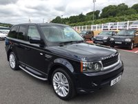 USED 2010 10 LAND ROVER RANGE ROVER SPORT 3.0 TDV6 HSE 5d AUTO 245 BHP Midnight Blue metallic with Cream Premium leather & Blue secondary, facelift 2010 model