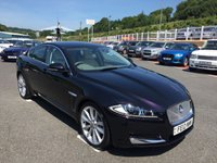 USED 2012 12 JAGUAR XF 2.2d PREMIUM LUXURY Facelift Diesel Auto Very high specification facelift model in metallic Black with Cream leather