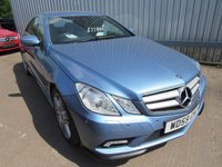 USED 2009 59 MERCEDES-BENZ E CLASS 3.0 E350 CDI BLUEEFFICIENCY SPORT 2d AUTO 231 BHP