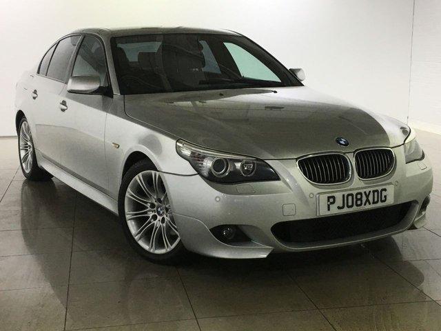 View our 2008 08 BMW 5 SERIES 3.0 530D M SPORT 4d 232 BHP